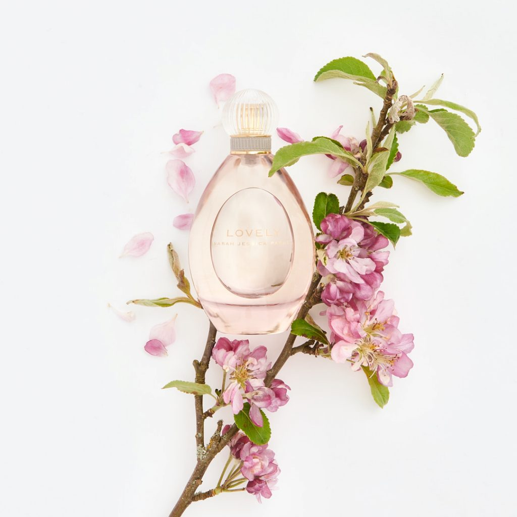 Fragrance with flowers